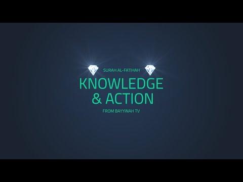 Knowledge Vs Action | Surah Al Fatihah | Quran Gems