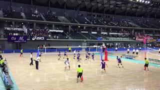 川崎橘 - 東洋 2018年6月2日(土)平成30年度第72回関東高等学校男子バレーボール大会