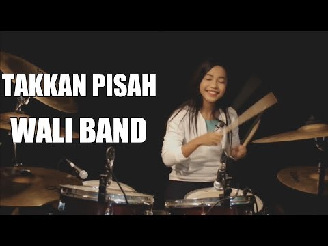 Takkan Pisah | Wali Band | Drum Cover by Nur Amira Syahira
