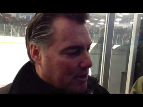 Hingham head coach Tony Messina