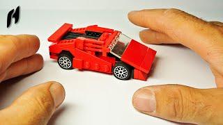 How to Build a Small Lego Lamborghini (MOC)