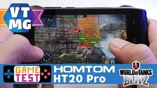 WOT Blitz на Homtom HT20 Pro