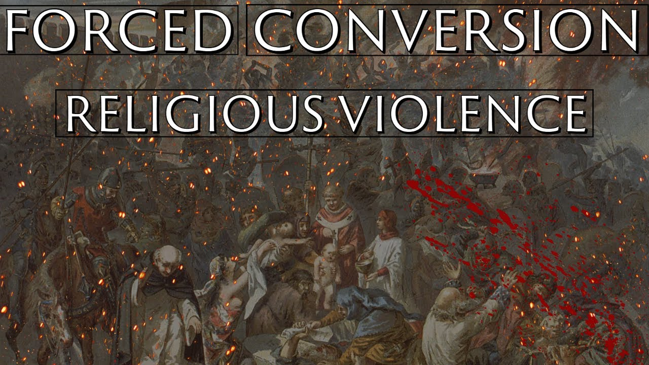 Violence and Forced Conversion in Medieval Europe. ~ Dr. Jacob Lackner
