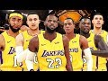 LA Lakers vs Warriors First Game / SHOWTiME or CiRCUS? - NBA 2K18