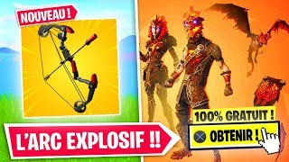 OBTENIR THE PACK -LAVA LEGENDS FREE - EXPLOSIVE ARC on FORTNITE!!