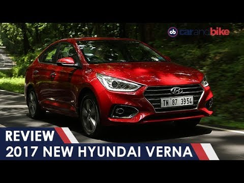 2017 New Hyundai Verna Review NDTV CarAndBike