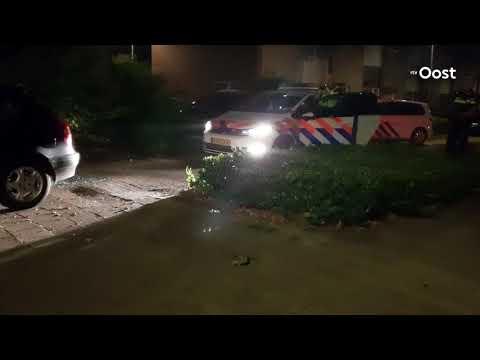 Man die 'raar gedrag vertoont' aangehouden in Hengelo na achtervolging