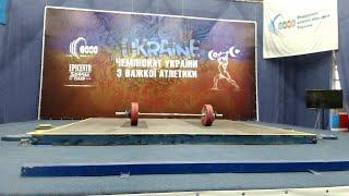 Чемпіонат України з важкої атлетики серед юнаків та дівчат до 17 років. 4 день