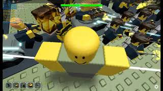 Roblox Tower Defence simulator Triumph on Forest camp