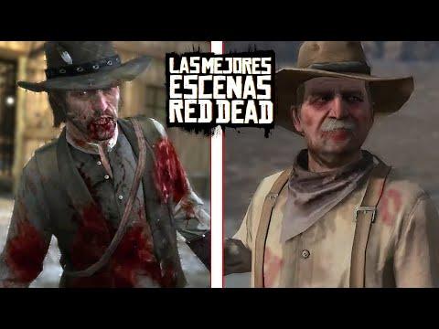 QUE PASO CON JOHN, EDGAR ROSS Y UNCLE - Las Mejores Escenas Red Dead