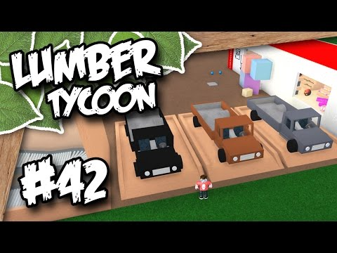 Lumber Tycoon 2 #42 - CAR PARKING LOT (Roblox Lumber Tycoon)