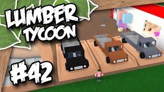 Lumber Tycoon 2 #42 - CAR PARKING LOT (Roblox Lumber Tycoon)