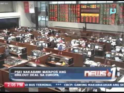 PSEI, nakabawi matapos ang 'bailout deal' sa Europa