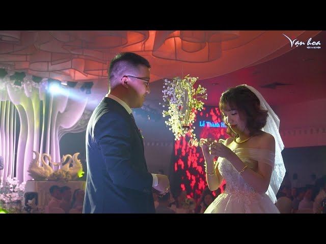[Bản tin số 38.20]-VẠN HOA TV. Lễ cưới ngập tràn sắc màu cổ tích của phòng tiệc Vạn Hoa Thái Thịnh
