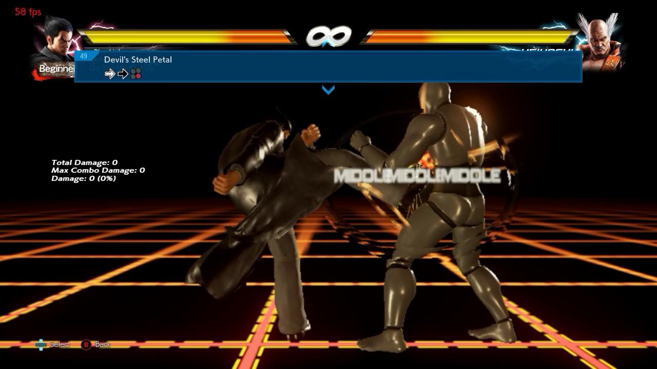 Tekken 7 - Kazuya Mishima Move List