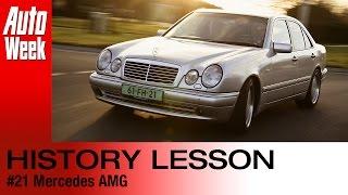 Geschiedenisles - Mercedes AMG