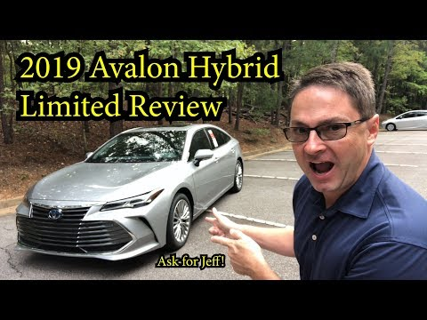 Avalon Hybrid Limited Review and Test Drive