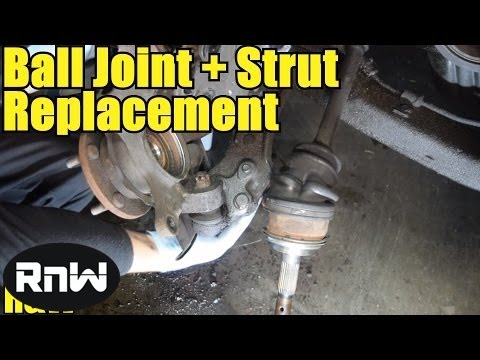 How to Replace a Lower Ball Joint, Steering Knuckle and Strut Assembly
