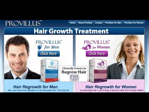 Provillus The Best Solutions To Prevent Hair Loss Provillus Review