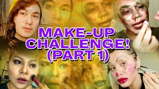 THE BECKY NIGHTS MAKEUP CHALLENGE: PART 1 (PALABAN EDITION)