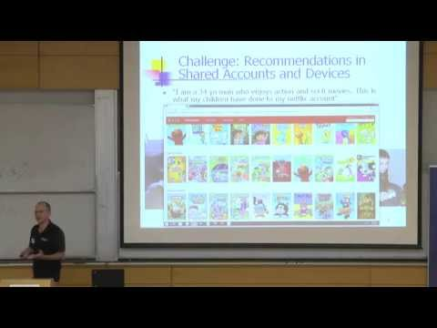 Contextual Recommendations in Multi-User Devices - Ronny Lempel Yahoo -Technion lecture