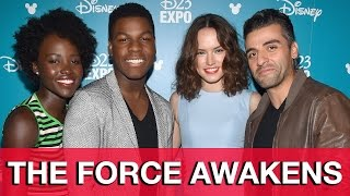 Star Wars: The Force Awakens Interviews - Daisy Ridley, John Boyega, Lupita Nyong