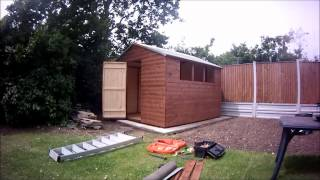 Building A 10 X 9 Apex Garden Shed
