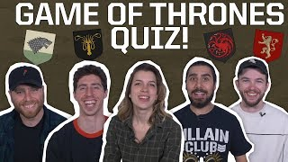 CAN YOU PASS THIS GAME OF THRONES DEATH QUIZ?