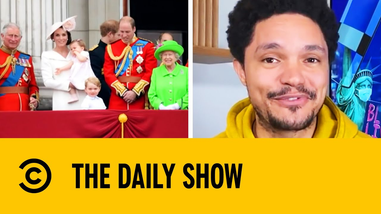 Biggest British Royal Family News 2020 | The Daily Show with Trevor Noah
