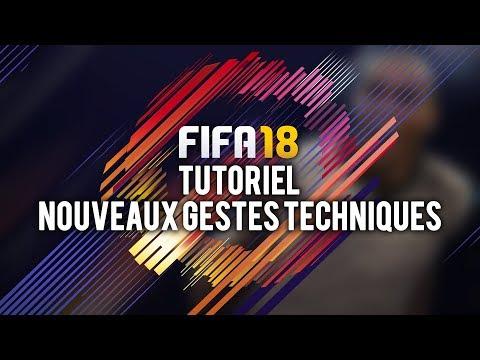 FIFA 18 NOUVEAUX GESTES TECHNIQUES !