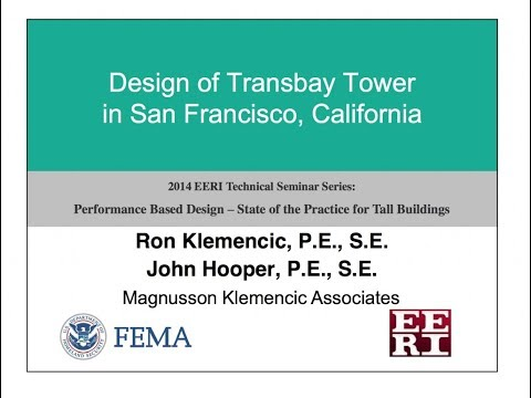 Concrete Building Design - Performance Based Design of Tall