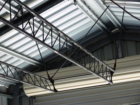 Make A Workshop Truss Framed Overhead Gantry Youtube