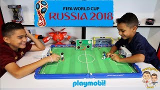 FIFA WORLD CUP RUSSIA 2018 | PLAYMOBIL SOCCER ARENA | SOCCER TARGETS