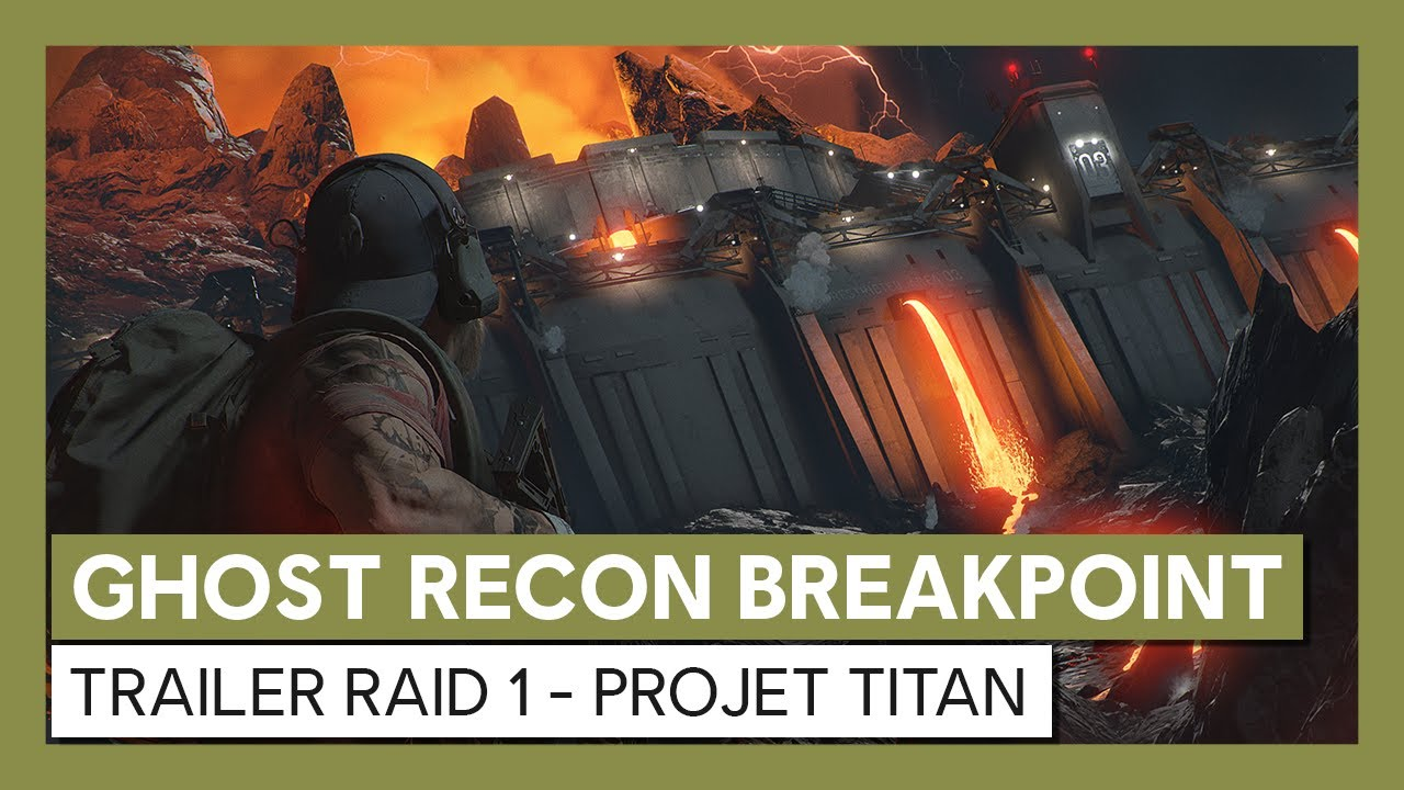 Ghost Recon Breakpoint : Trailer Raid 1 - Projet Titan