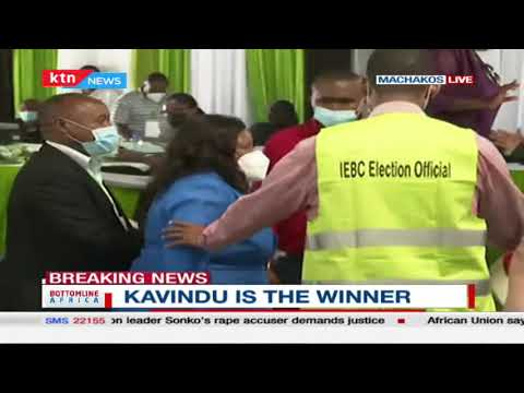BREAKING: Agnes Kavindu  Muthama wins the Machakos Senatorial seat