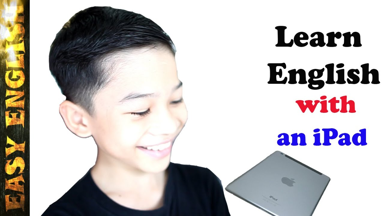 Learn English - in one minute with an iPad ✓