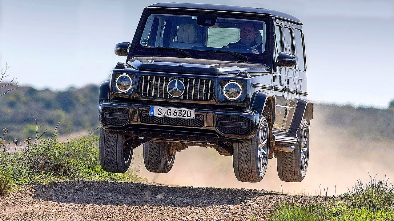 Mercedes G-Class (2019) OFF-ROAD Test Drive