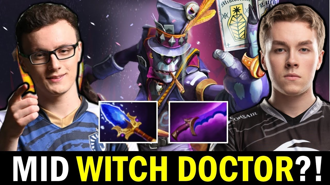 WTF MID Witch Doctor — MIRACLE vs ZAI Dota 2 thumbnail