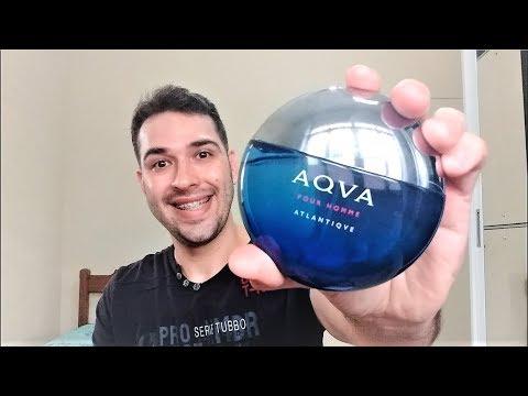 Perfume Bvlgari Aqva Pour Homme Atlantiqve Youtube