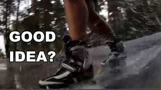 Inline Skating in the RAIN - A Good Idea?
