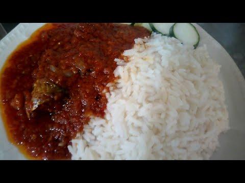 BEST WAY TO PREPARE TOMATOE STEW (NIGERIA FOOD)