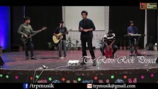 the retro rock project  live hansraj college d u 2017  day 1   main jahan rahoon