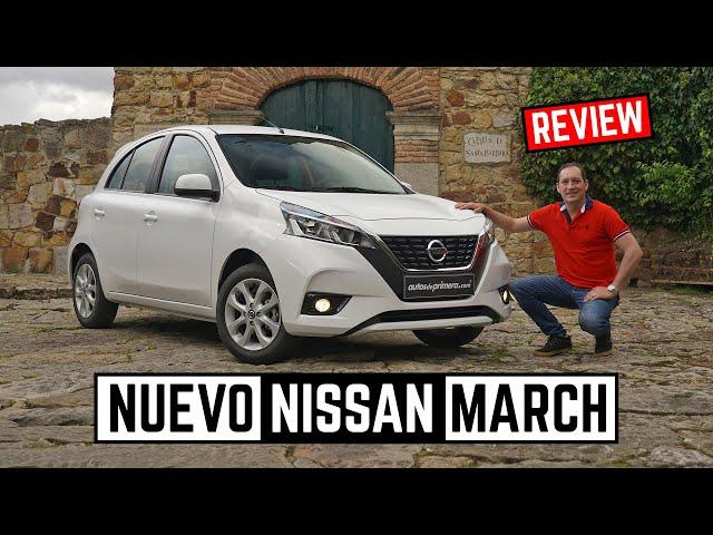 Nissan March 🔥  Nueva cara para el exitoso City Car 🔥 Prueba - Reseña