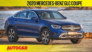2020 Mercedes-Benz GLC 300d Coupe Facelift India Review | First Drive | Autocar India