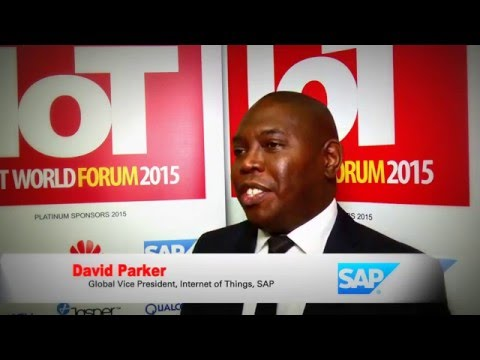 David Parker SAP Internet of Things VP - IoT WORLD FORUM 2015 ...