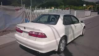 Видео-тест автомобиля Honda Torneo (CF4-1107461, F20B, 1999г)