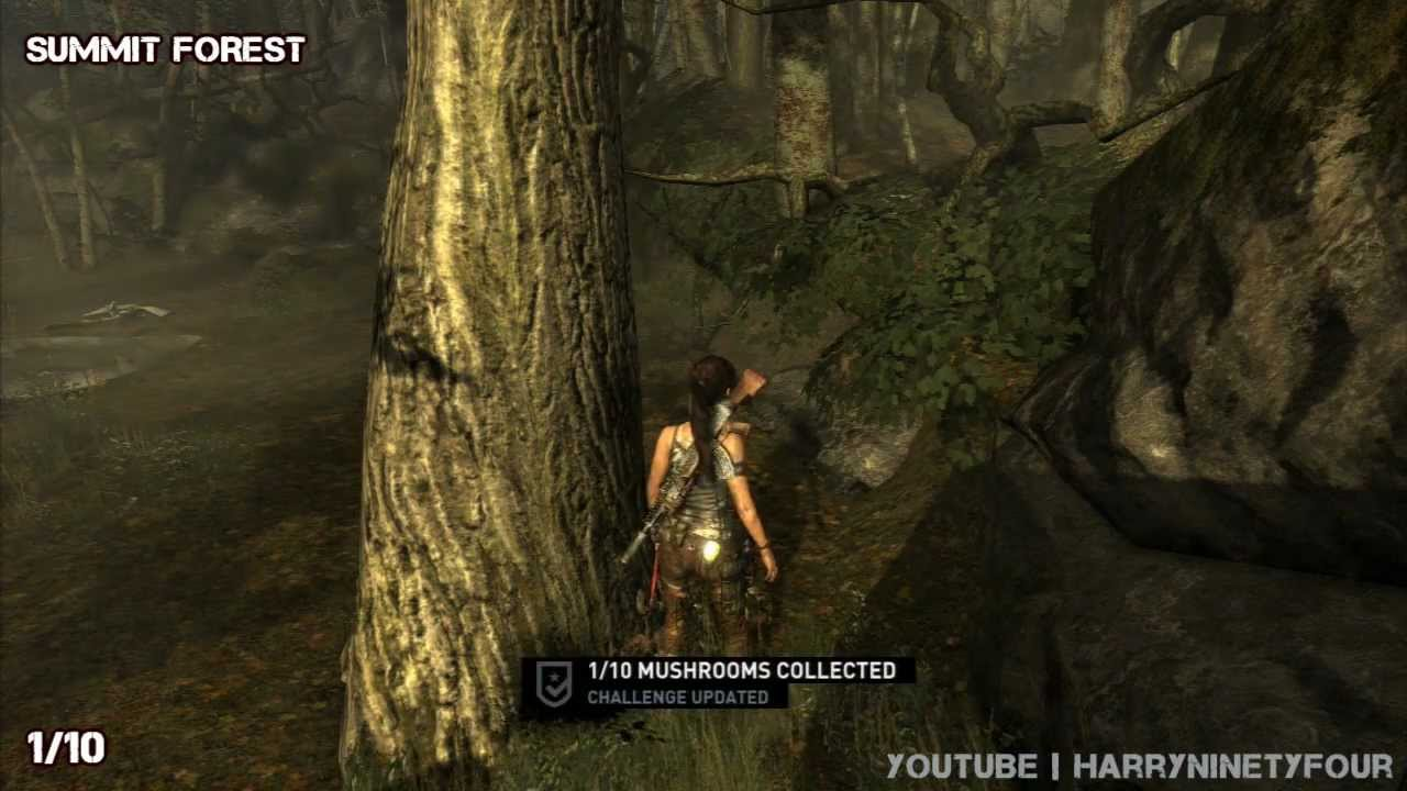 Tomb Raider Red Cap Roundup Challenge Guide All