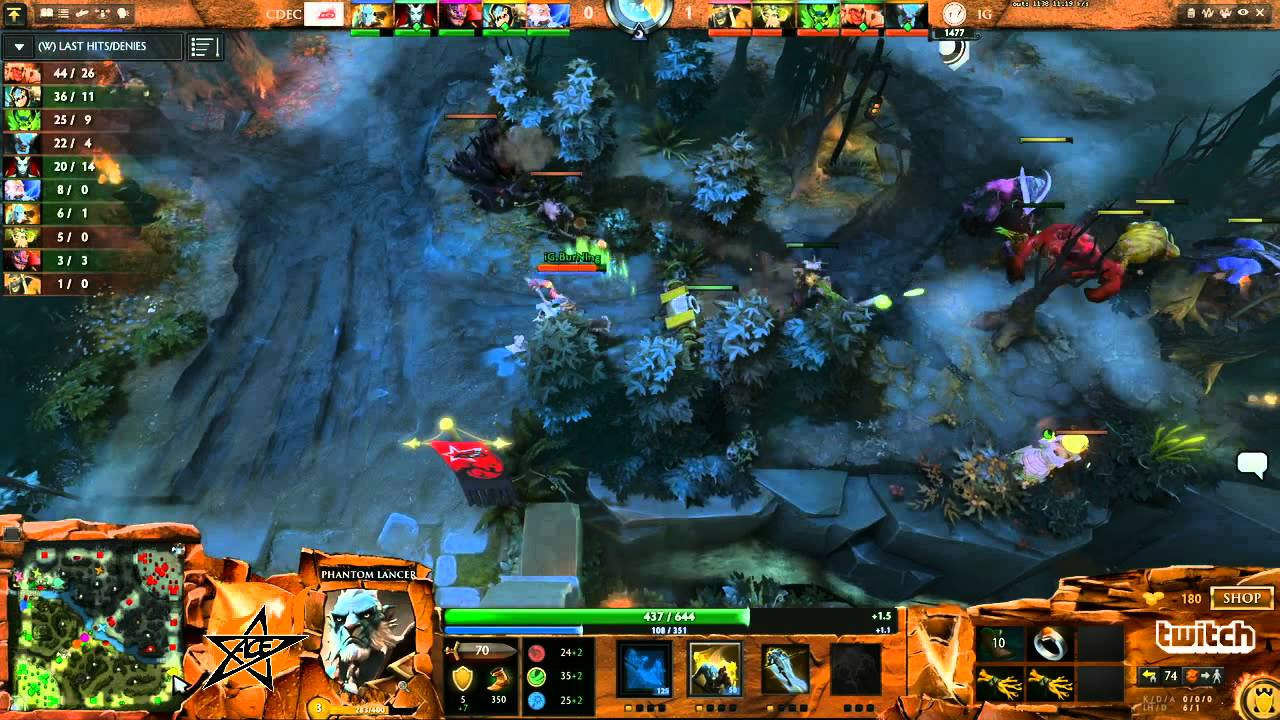 By The Nether Reaches IG Vs CDEC Game 1 Dota 2