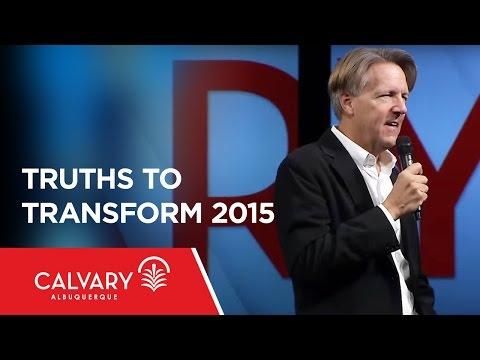 Truths to Transform 2015 - Psalm 90 - Skip Heitzig