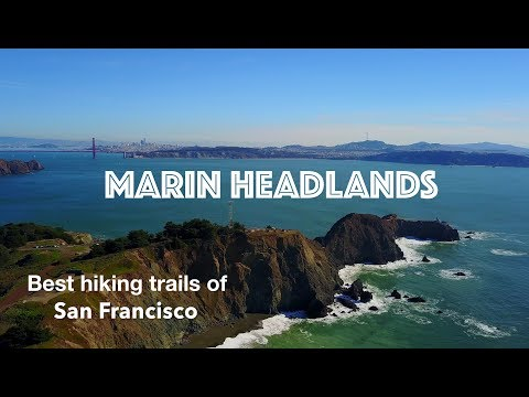 San Francisco: View above Marin Headlands (4K drone guide)